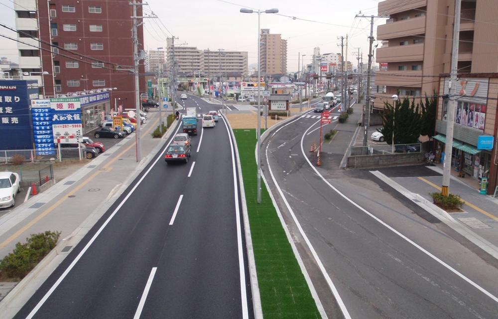 (国)2号姫路西拡幅道路改良工事