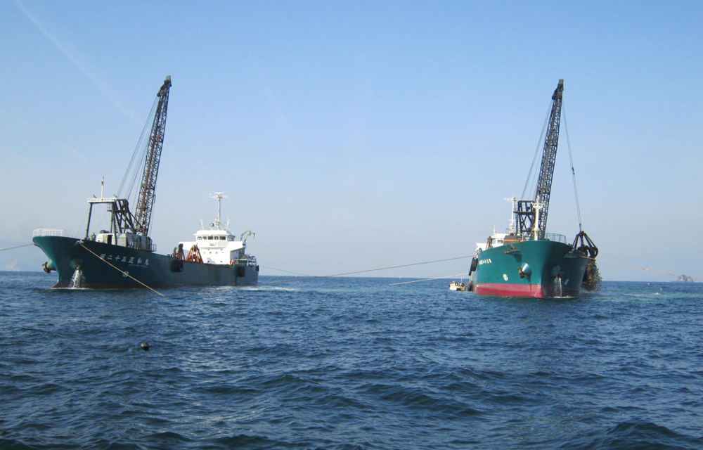 播磨灘中西部地区加島第2増殖場造成工事