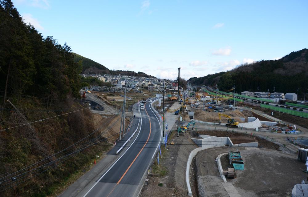 (北部)糸田岡七廻り線道路新設工事