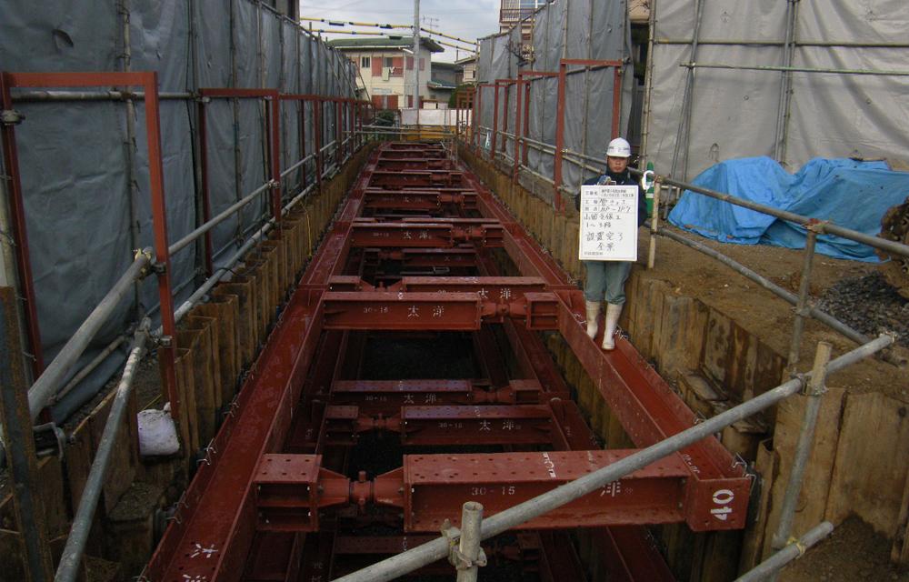 瀬戸第3雨水幹線(戌ノ方谷工区)布設工事